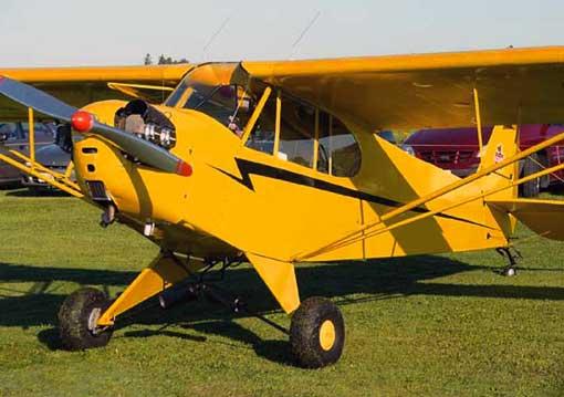 RC J3 Piper Cub
