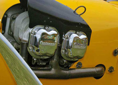 Piper Cub Contential Engine