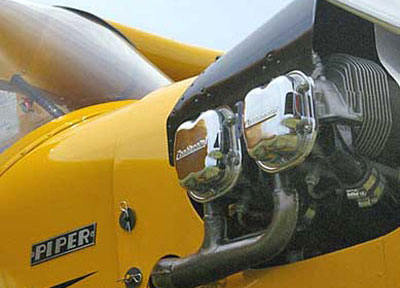 Piper Cub Nose View