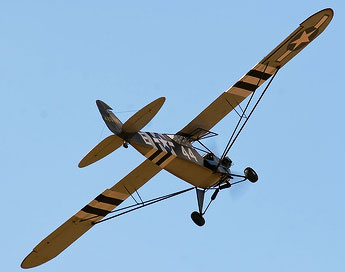 Piper L-4 Grasshoper WWII Military Light Aircraft