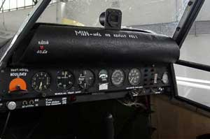 Cockpit of the Piper PA-25 Pawnee