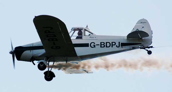 picture for the Piper PA-25 Pawnee Glider Tug paper model