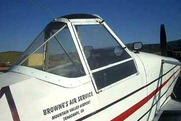 Piper PA-25 Pawnee canopy