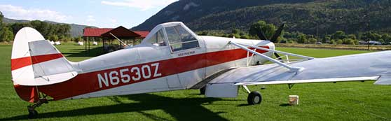 Piper PA-25 Pawnee resting