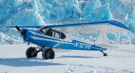 Piper Super Cub Frozen Tundra