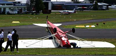 Piper Super Cub Crash