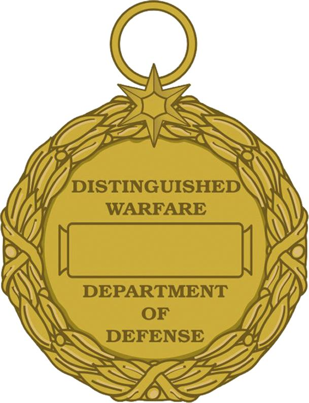 distinguished warfare DOD medal