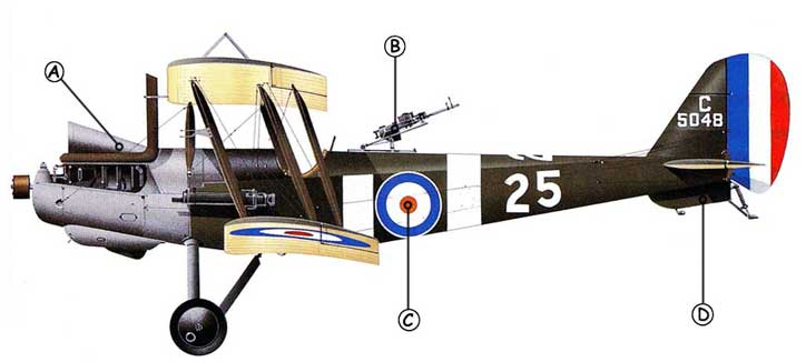 Royal Aircraft Factory R.E.8 Callout