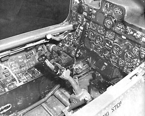 Republic F-84 Thunderstreak Cockpit