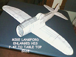 Mike Langfords P-47