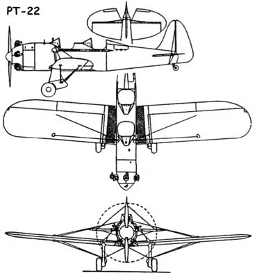 3 View of the Ryan PT-22
