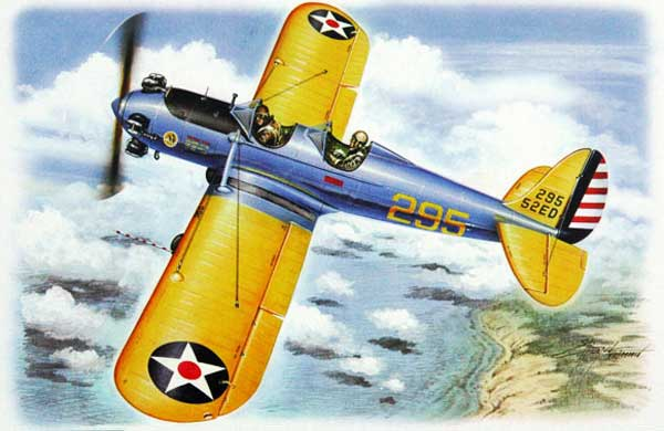 Illustration for Ryan PT-22 Trainer paper model