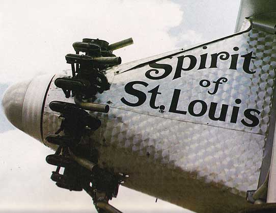 Spirit-of-St Louis-nose