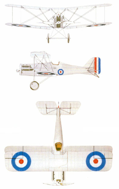 Color 3 View of Royal Aircraft Factory SE5a