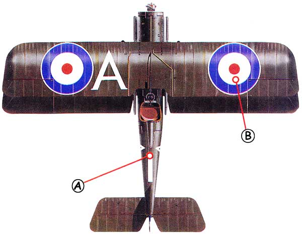 Royal Aircraft Factory SE5a Callout Topa