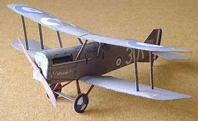 Billy Bishop's se5a british WWI scout