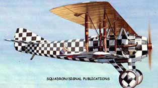 SPAD XIII-checkered