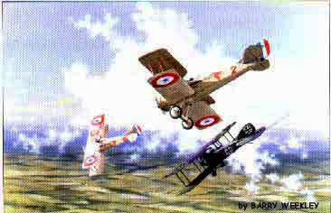 SPAD XIII-dogfight