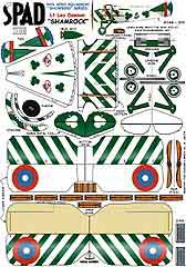 Spad xiii collection aircraft