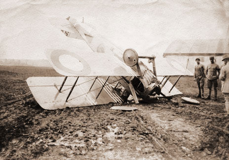 Spad Crash