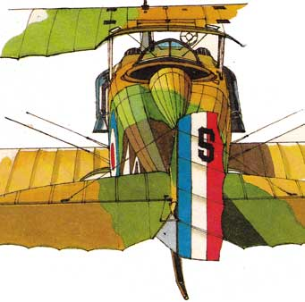 SPAD XIII rear view