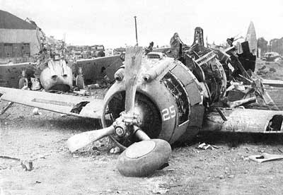 Remains of a P-35