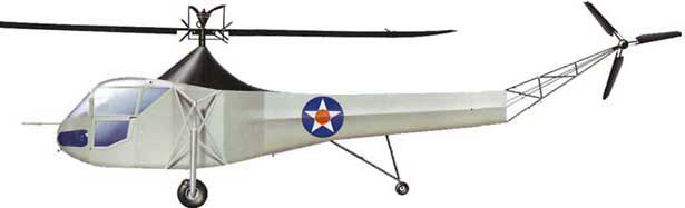 Sikorsky R-4 sideview
