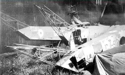 Sikorsky R-4 helicopter Scrapped