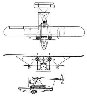 Sikorsky S-38 three vu