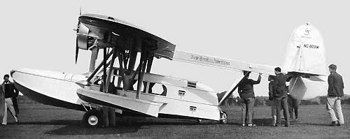 Sikorsky S-38 side view