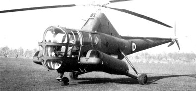 RAF Dragonfly R5 helicopter