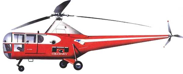 Sikorsky S-51 Helicopter