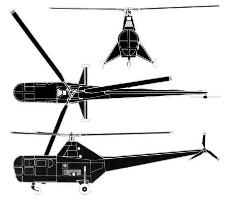 R-5 (S-55) 3view