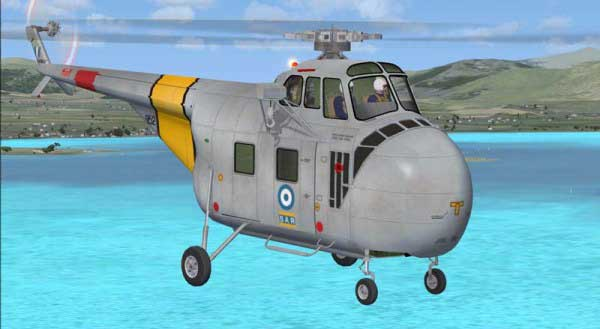 Sikorsky S-55/ H-19 illustration