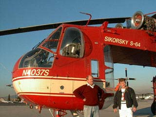 The Company  Sikorsky S-64 flying Crane