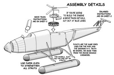 Assembly Details for the VS-300