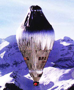 Breitling Orbiter Helium/Hot air ballon