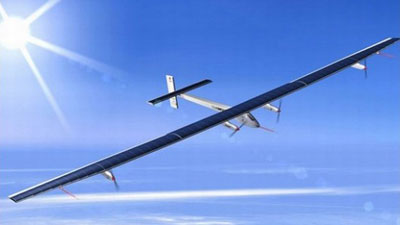 Solar Impulse Rendering