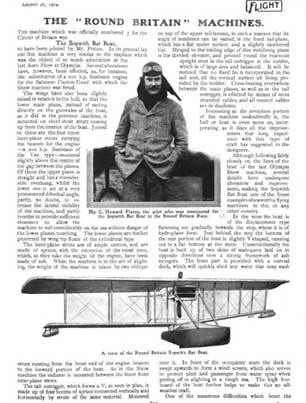 Sopwith Bat Boat article