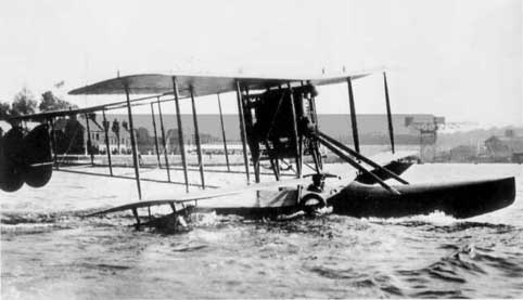 Sopwith Bat Boat quite at home in water