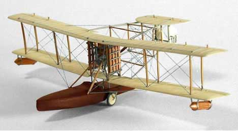 Wood model of the Sopwith Bat Boat