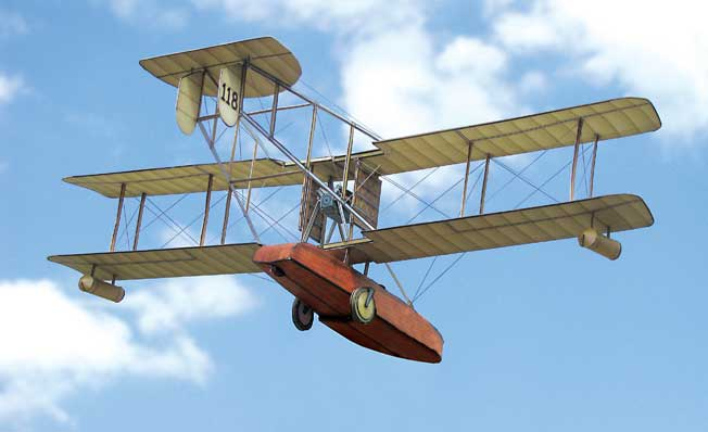 Sopwith-Bat-Boat paper model