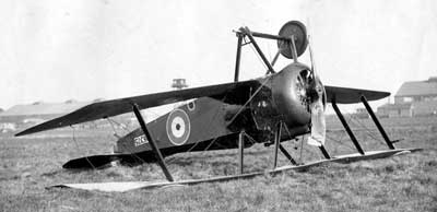 Sopwith Camel Crash