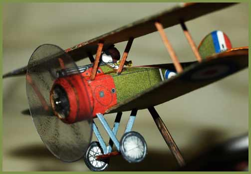 Sopwith Camel Fiddlersgreen Modeling Madness 2010 Winner