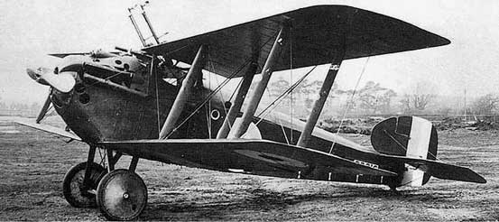Sopwith Dolphin in  mud