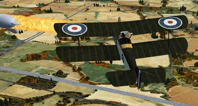 Sopwith Pup Balloon Attack