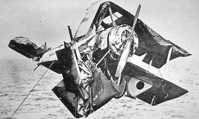 Sopwith Pup Crash