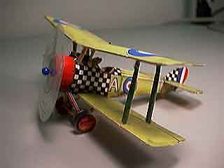 a made up model of the Sopwith Pup