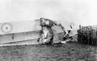 Sopwith Triplane Crash