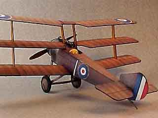the Sopwith Triplane WWI Scout